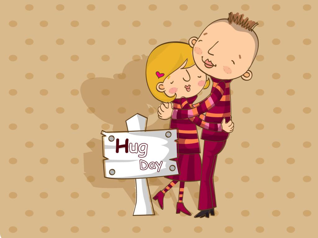 best hug day shayari with wallpaper