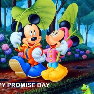 best promise day shayari wallpaper